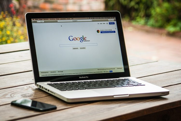 Internetm web, laptop, računalo, Google